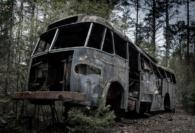 Gammal buss - Katarina Henmyr